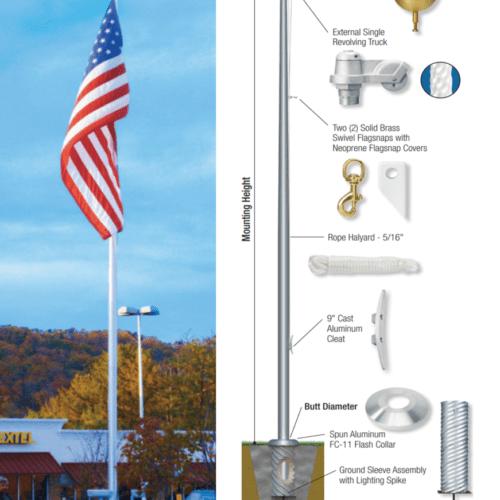 ESR Flagpole
