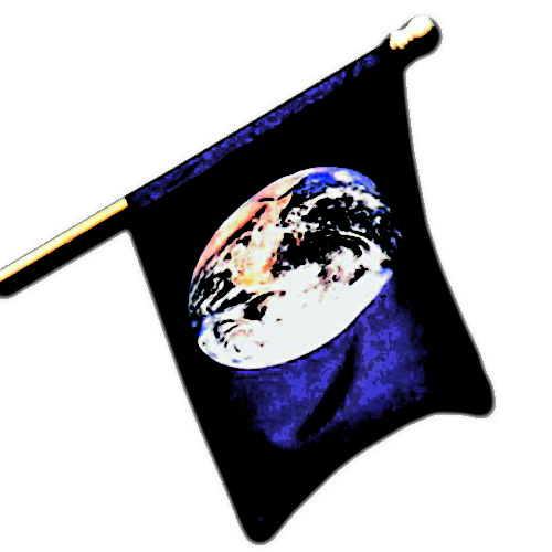 Earth Banner pole