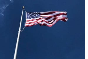 100′ Flagpole in Lancaster County PA